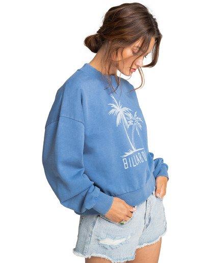 3 Dos Palms - Sweatshirt for Women Azul W3CR02BIP1 Billabong