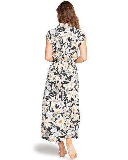 1 Little Flirt - Buttoned Dress for Women Black W3DR03BIP1 Billabong