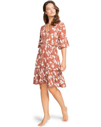 Love Game - Plunge Neck Dress for Women  W3DR23BIP1