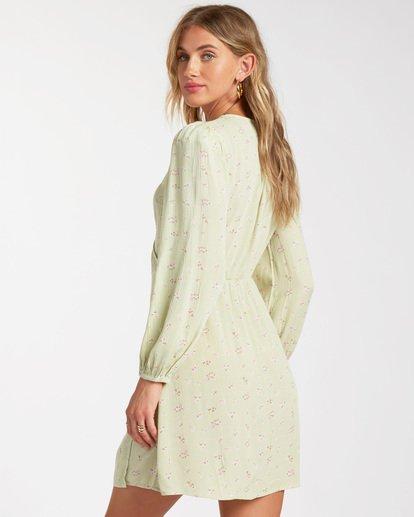 1 Lotta Love - Mini-Wickelkleid für Frauen Grün W3DR36BIP1 Billabong