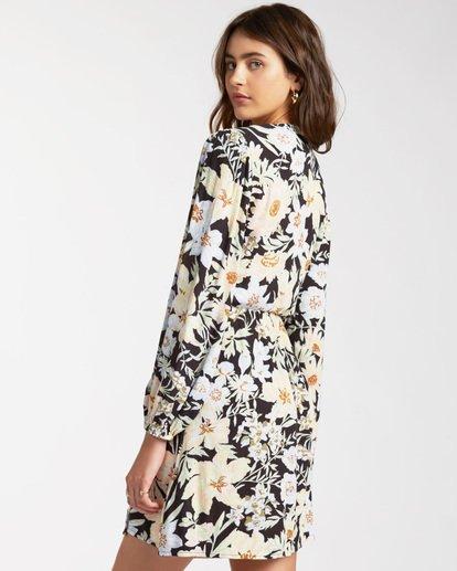2 Lotta Love - Mini Wrap Dress for Women Black W3DR36BIP1 Billabong