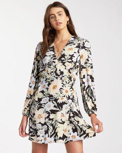 0 Lotta Love - Mini Wrap Dress for Women Black W3DR36BIP1 Billabong