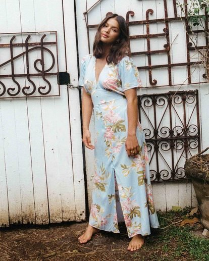 Lucky In Love - Midi Dress for Women  W3DR38BIP1