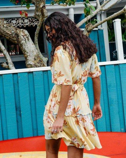 1 One And Only - Mini Vestido para Mujer Amarillo W3DR39BIP1 Billabong