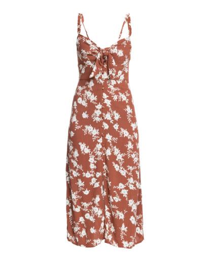 4 Wild At Heart - Kleid mit tiefem Ausschnitt für Frauen Braun W3DR43BIP1 Billabong