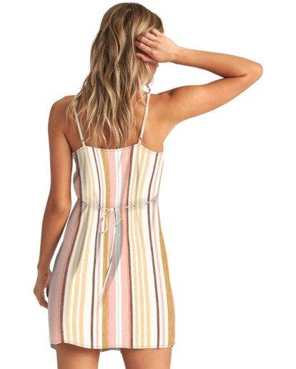 1 Sweet For Ya - Mini vestido con botones para Mujer Multicolor W3DR46BIP1 Billabong