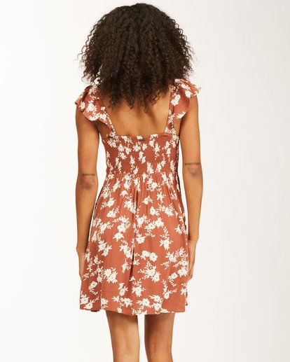 2 Forever Yours - Mini Vestido para Mujer Marron W3DR47BIP1 Billabong