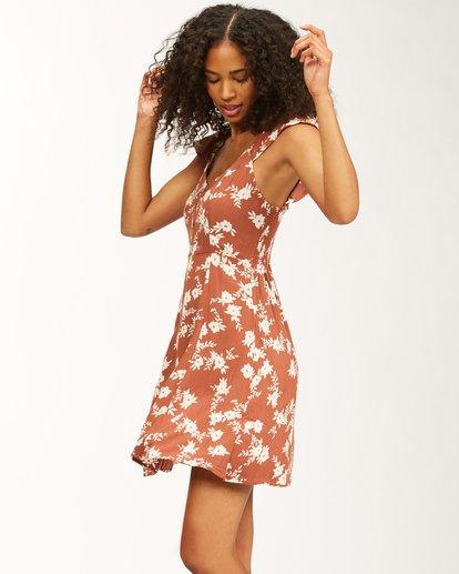 1 Forever Yours - Mini Vestido para Mujer Marron W3DR47BIP1 Billabong