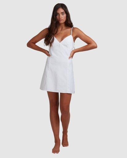5 Sunny Dayz - Mini Flare Dress for Women White W3DR48BIP1 Billabong