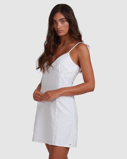 1 Sunny Dayz - Mini Flare Dress for Women White W3DR48BIP1 Billabong
