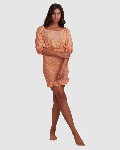 7 Summer Sun - Fitted Dess for Women Orange W3DR49BIP1 Billabong