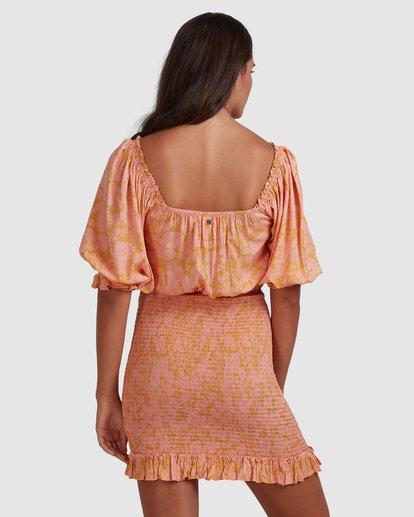 4 Summer Sun - Fitted Dess for Women Orange W3DR49BIP1 Billabong