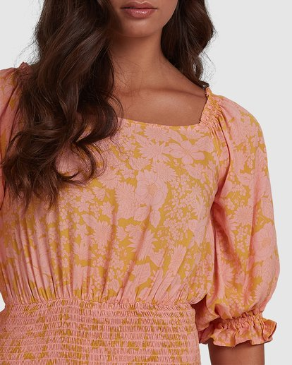 6 Summer Sun - Fitted Dess for Women Orange W3DR49BIP1 Billabong
