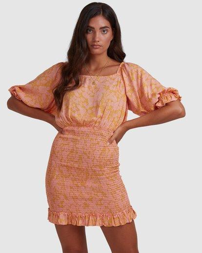 2 Summer Sun - Fitted Dess for Women Orange W3DR49BIP1 Billabong