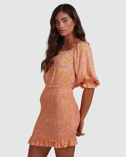 3 Summer Sun - Fitted Dess for Women Orange W3DR49BIP1 Billabong