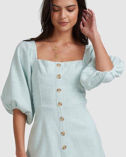5 White Sand - Mini vestido para Mujer Azul W3DR50BIP1 Billabong