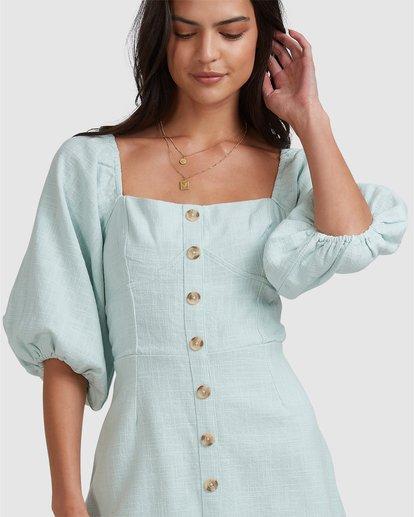 9 White Sand - Mini vestido para Mujer Azul W3DR50BIP1 Billabong