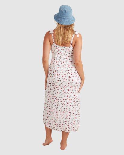 3 Tie - Robe midi pour Femme Blanc W3DR56BIP1 Billabong