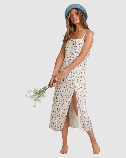 9 Tie - Robe midi pour Femme Blanc W3DR56BIP1 Billabong
