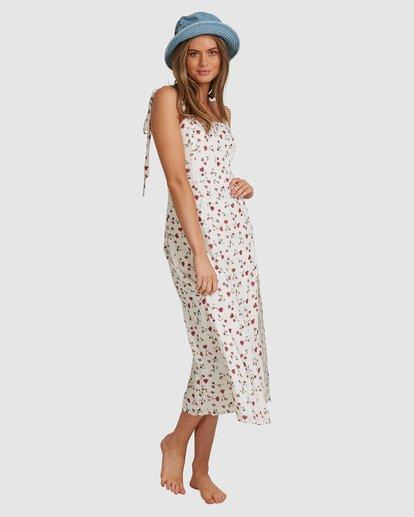 7 Tie - Robe midi pour Femme Blanc W3DR56BIP1 Billabong