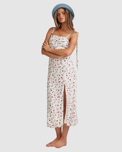 5 Tie - Robe midi pour Femme Blanc W3DR56BIP1 Billabong