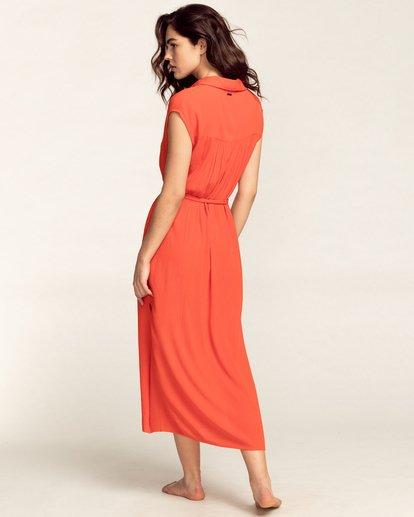 1 Little Flirt - Buttoned Dress for Women Multicolor W3DR60BIP1 Billabong