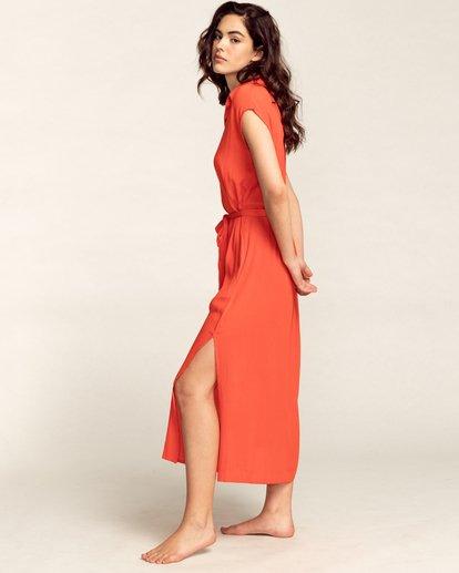 2 Little Flirt - Buttoned Dress for Women Multicolor W3DR60BIP1 Billabong