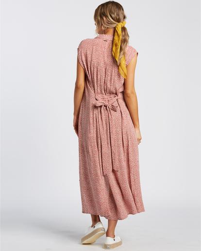 5 Little Flirt - Robe midi pour Femme Rouge W3DR63BIP1 Billabong