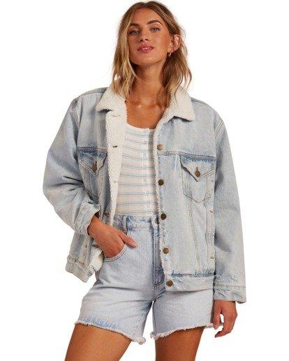 0 Such A Trip - Veste en jean pour Femme Bleu W3JK09BIP1 Billabong
