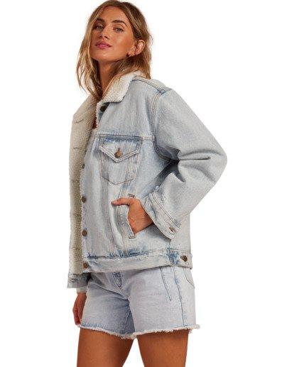 1 Such A Trip - Veste en jean pour Femme Bleu W3JK09BIP1 Billabong