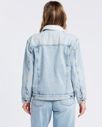 6 Such A Trip - Veste en jean pour Femme Bleu W3JK09BIP1 Billabong