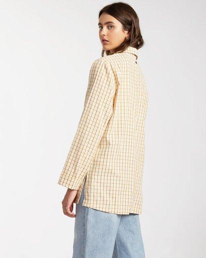 1 Safari Check Blazer Jacket - Blazer-Jacke für Frauen Mehrfarbig W3JK10BIP1 Billabong