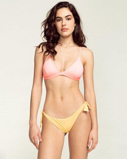 1 Sol Searcher Tanga - Mini Bikini Bottoms for Women Yellow W3SB07BIP1 Billabong