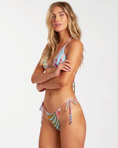 1 Surfadelic Hike - Mini braguita de bikini para Mujer Multicolor W3SB25BIP1 Billabong