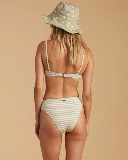 1 Salty Blonde Meet Your Matcha Maui Rider - Recycled Bikini Bottoms for Women Green W3SB48BIP1 Billabong