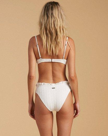 0 Salty Blonde By The Seashore Bondi - Mutandina bikini in materiale riciclato da Donna White W3SB54BIP1 Billabong