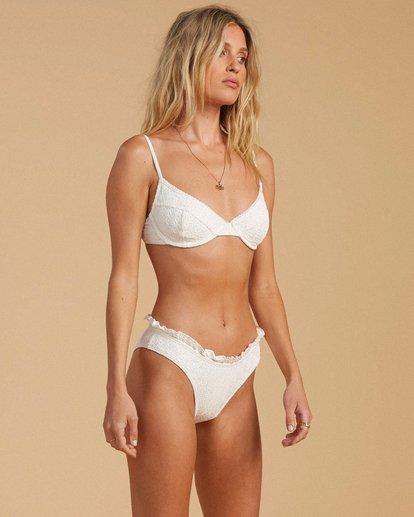 1 Salty Blonde By The Seashore Bondi - Mutandina bikini in materiale riciclato da Donna White W3SB54BIP1 Billabong