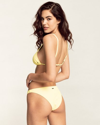 0 Feels Like Love Tropic - Bas de bikini pour Femme Jaune W3SB79BIP1 Billabong