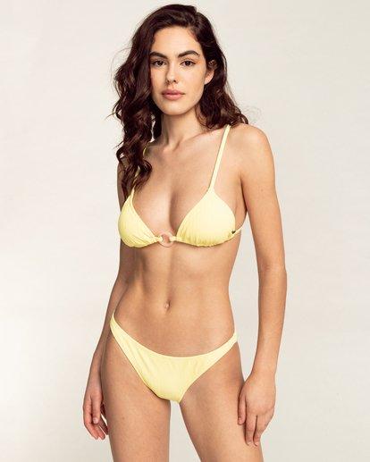 1 Feels Like Love Tropic - Bas de bikini pour Femme Jaune W3SB79BIP1 Billabong