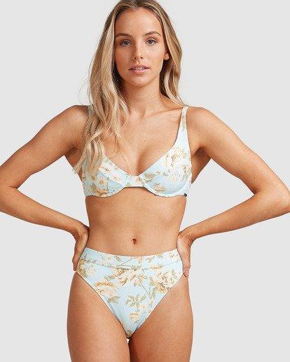 0 Laguna Maui Rider - Braguita de bikini para Mujer Azul W3SB84BIP1 Billabong