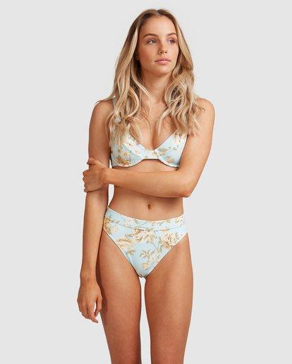 1 Laguna Maui Rider - Braguita de bikini para Mujer Azul W3SB84BIP1 Billabong
