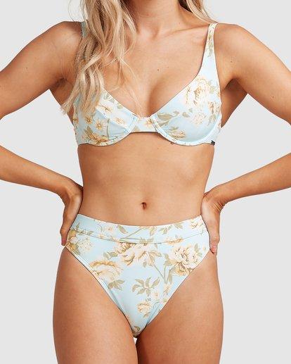 2 Laguna Maui Rider - Braguita de bikini para Mujer Azul W3SB84BIP1 Billabong