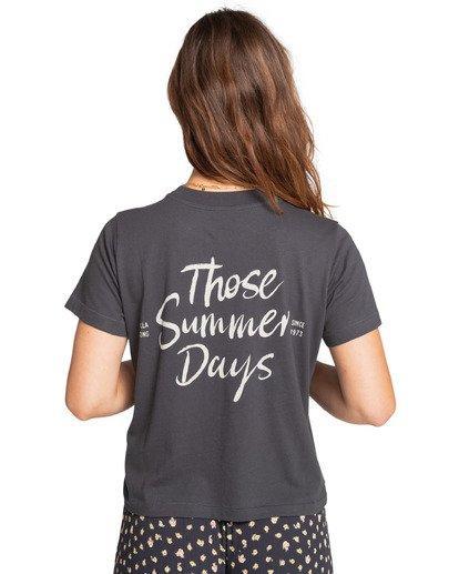 2 Those Days - T-Shirt for Women Schwarz W3SS08BIP1 Billabong