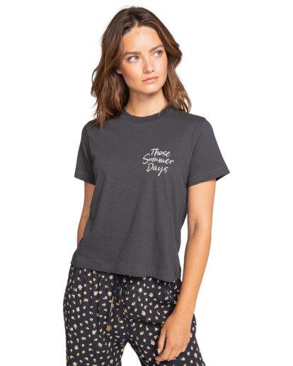 0 Those Days - T-Shirt for Women Schwarz W3SS08BIP1 Billabong