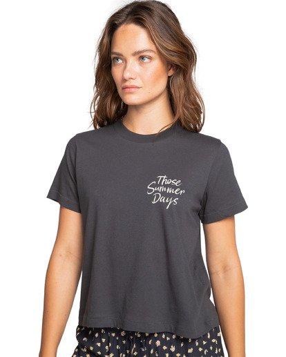 1 Those Days - T-Shirt for Women Schwarz W3SS08BIP1 Billabong