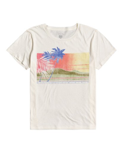 0 Sunny Days - Boyfriend T-Shirt for Women Blanco W3SS15BIP1 Billabong
