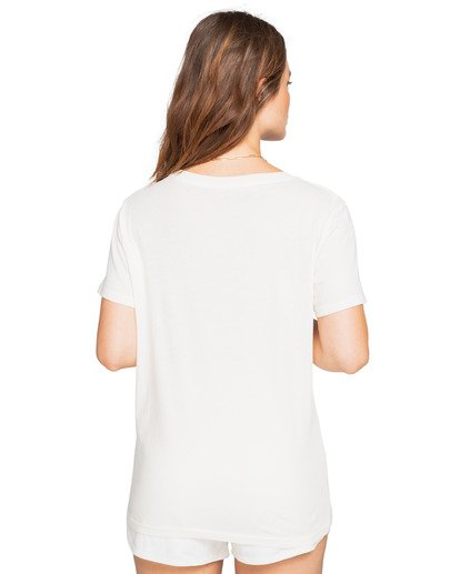 3 Sunny Days - Boyfriend T-Shirt for Women Blanco W3SS15BIP1 Billabong