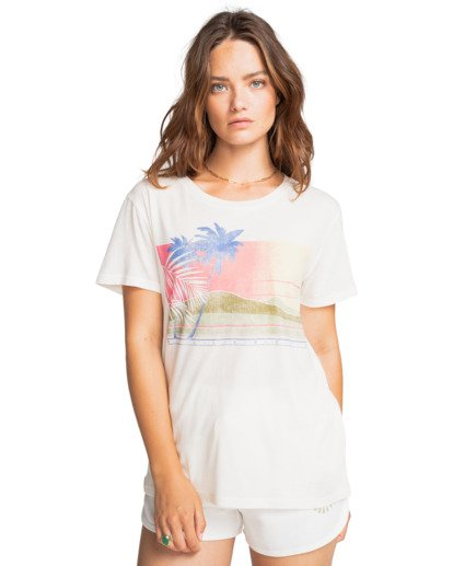 2 Sunny Days - Boyfriend T-Shirt for Women Blanco W3SS15BIP1 Billabong