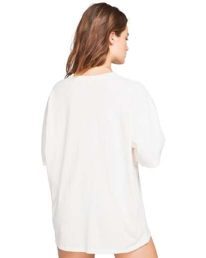 4 Dreamy Day - Oversized T-Shirt for Women Blanco W3SS36BIP1 Billabong