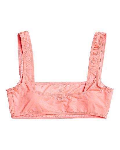 3 Sol Searcher Scoop Front Tank - Top de bikini para Mujer Rosa W3ST03BIP1 Billabong